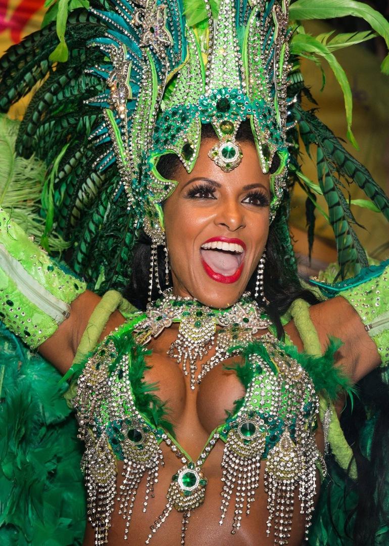 Samba TäNzerin Nackt